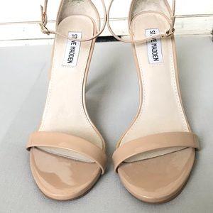 Steve Madden - nude heels